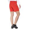 Norrøna Falketind Flex1 Spodnie krótkie Kobiety czerwony